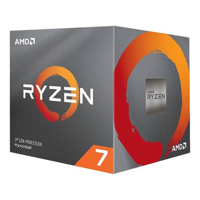 AMD Ryzen 7 3700X Eight Core 3.6GHz PCIe 4.0, Retail