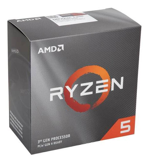 AMD Ryzen 5 3600 Six-Core 3.6GHz Socket AM4, Retail