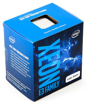 Intel Xeon E3-1275 v6 Quad-Core Kaby Lake 3.8GHz, Retail