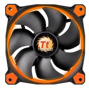 Thermaltake Riing 120mm Orange LED