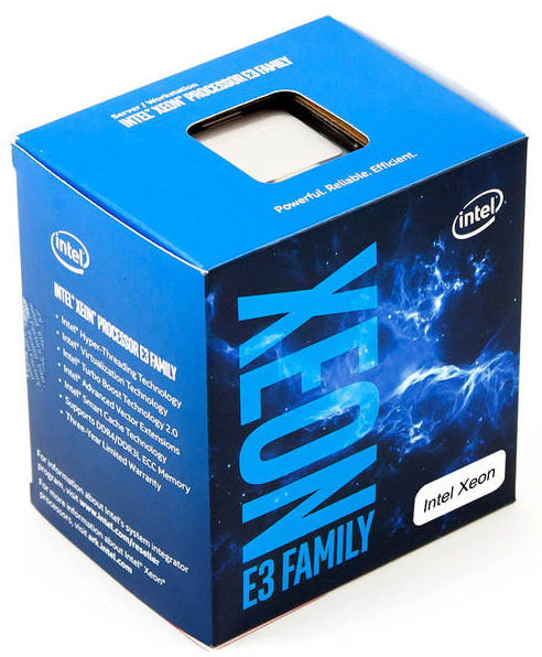 Intel Xeon E3-1230 v6 Quad-Core Kaby Lake 3.5GHz 8MB, Retail
