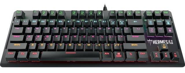 Gamdias HERMES E2  USB 7 Color Mechanical Gaming