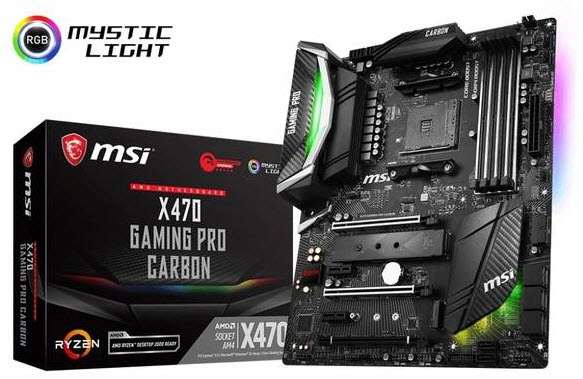 MSI X470GPCARBON AM4/AMD X470/DDR4 ATX