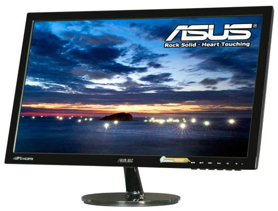 ASUS VS239H-P 23in Widescreen 5ms 50,000,000:1 VGA/DVI/HDMI