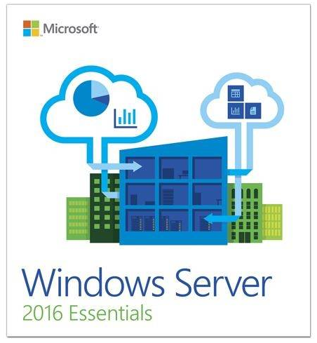 MS Windows Server 2016 Essentials (1 Server) OEM