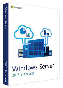 Microsoft Windows Server 2016 64-bit (16 Core), OEM