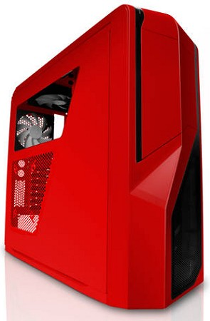 NZXT PHANTOM 410 ATX Mid Tower (Red)