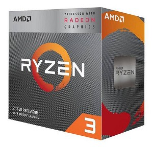 AMD Ryzen 3 3200G w/ Radeon Vega 8 Quad-Core 3.6GHz AM4, Retail