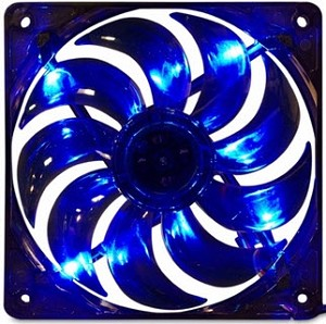 MassCool BLD 120mm 3&4pin Molex Blue LED