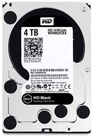 Western Digital Black WD4005 4TB 7200RPM 256MB (3.5)