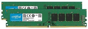 Crucial DDR4-2400 8GB(2x 4GB) CL17 Kit