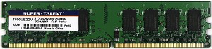 Super Talent DDR2-800 2GB/128x8